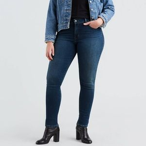 NWT Levi's blue 311 Shaping Skinny Plus Size 24 W